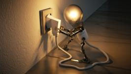 Stromverschwendung