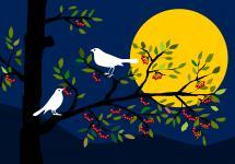 laue Frühlingsnacht